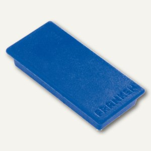 Franken Rechteckmagnet, Haftmagnet, 23 x 50 mm, blau, HM2350 03