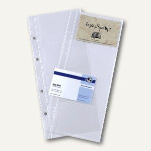 Sigel Ersatzhüllen für 80 Karten, für Visitenkartenringbuch, VZ350
