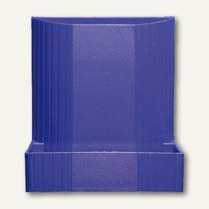 Exacompta Sifteköcher MINI-OCTO forever, 3 Fächer, kobaltblau, 675101D