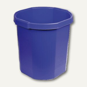 Multiform Papierkorb OCTO forever, 18 Liter, kobaltblau, 435101D