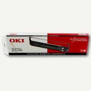 OKI Farbband Nylon ML393/395 schwarz, 09002311
