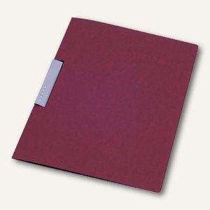 dataplus Karton-Klemmhefter Bewerbung DIN A4, 320 g/m², rot, 22043.026