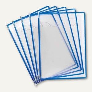 Tarifold Fold'Up Sichttasche mit Drehzapfen, blau, 5er Pack, 194201