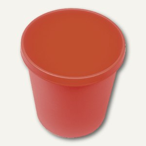 Helit Objekt-Papierkorb, 18 Liter, rot, H6105825