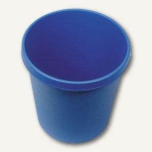 Helit Objekt-Papierkorb, 18 Liter, blau, H6105834