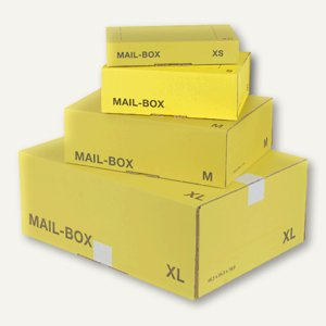 "smartboxpro MAIL-BOX ""S"", 249x175x79 mm, gelb, 212151120"