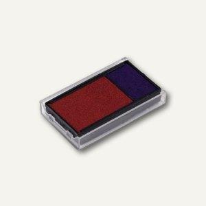 Trodat Ersatzstempelkissen 4912 Office Printy, blau/rot, 2er-Pack, 6/4912 bl/rt