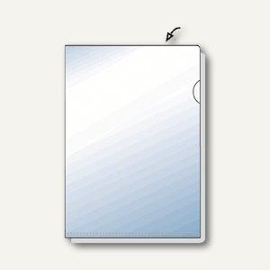 Hetzel Sichthüllen, DIN A4, 135 my, transparent, glatt, 10 Stück, 21781190
