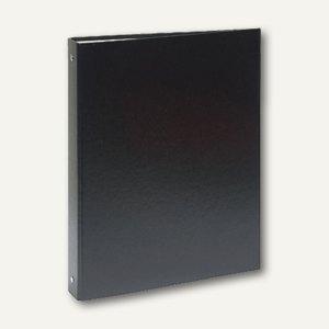 Exacompta Ringbuch, DIN A4, Ring-Ø 30 mm, PP, schwarz, 51371E