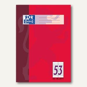 Oxford Vokabelheft, DIN A4, Lin. 53, zweispaltig, 32 Blatt, 100050336