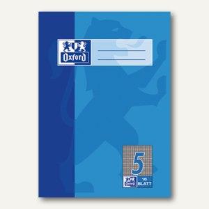 Oxford Heft, DIN A5, Lin. 5 - kariert 5 mm, 16 Blatt, 100050368