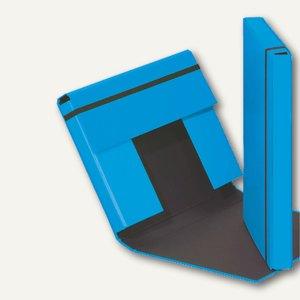 Pagna Sammelbox TREND, DIN A4 mit Gummizugverschluss, aquarius, 21308-20