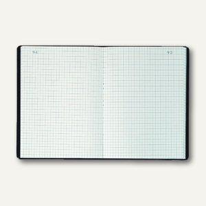 Exacompta Geschäftsbuch DIN A5, kariert, 100 Blatt/200 Seiten, 812B