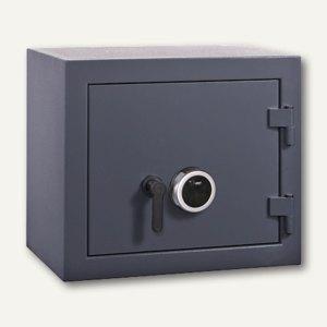 FORMAT Geschäftstresor GTB 10, Sicherheitsstufe B, graphitgrau, 002870-60100