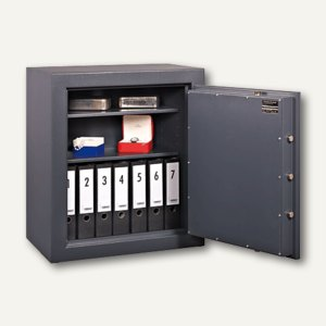 FORMAT Geschäftstresor GTB 20, Sicherheitsstufe B, graphitgrau, 002871-60102