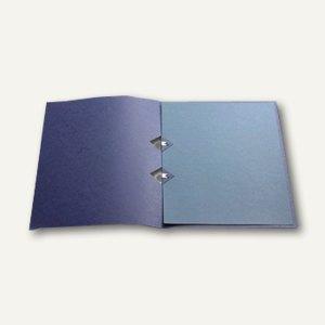 Präsentationsmappe A4, Karton, Japanclips, dunkelblau, 10 St., 997.809