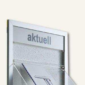 BST Blende für Wandprospekthalter PAKI-1, blanko, Blende / PAKI-1