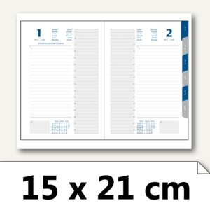 Tageskalender Time21 - 15 x 21 cm