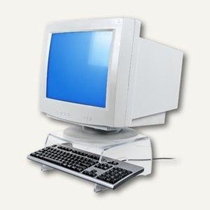 Dataflex CRT Monitorträger FH 100, mit Tastatur-Ablage aus 6 mm Acryl, 44.100