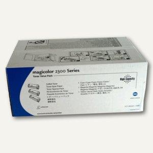 Konica Minolta Toner-Kit C,M,Y für Magicolor 2300, 4576611