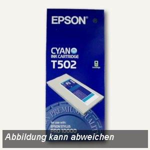 Epson Tintenpatrone für Epson Stylus Pro 10000, cyan, C13T502011