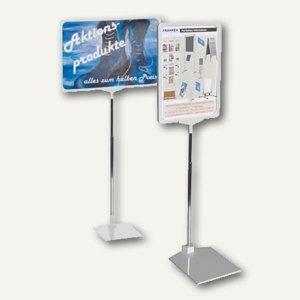Franken Preisständer, DIN A4 Hoch- oder Querformat, grau, PSM A4 12