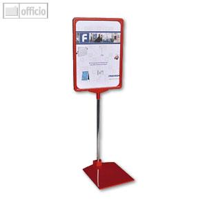 Franken Preisständer, DIN A4 Hoch- oder Querformat, rot, PSM A4 01