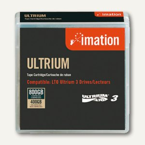 imation Black Watch LTO Ultrium 3 Tape, bis zu 800 GB, 17532