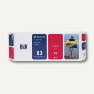 HP UV-Tintenpatrone magenta Nr.83, C4942A