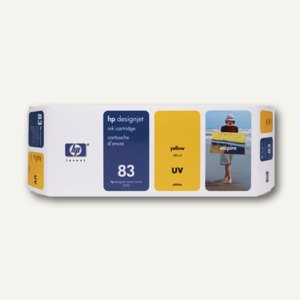 UV-Tintenpatrone gelb Nr.83