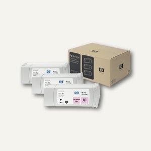 HP Tintenpatrone light magenta Nr.81, 3er-Pack, C5071A