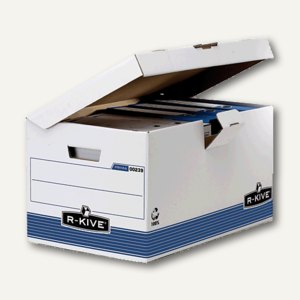 Bankers Box SYSTEM Klappdeckelbox KUBUS
