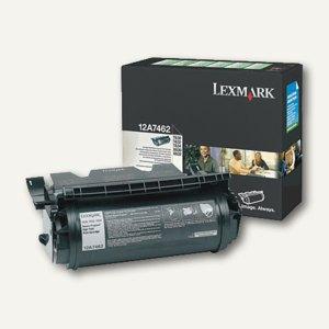 Lexmark Prebate-Toner schwarz für T 630 / T 632 / T 634 - 21.000 Seiten, 12A7462