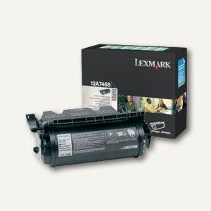 Lexmark Prebate-Etiketten-Toner schwarz für T 630 / T 632 / T 634, 12A7468