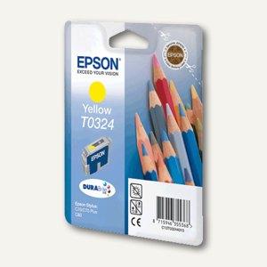 Epson Tintenpatrone T0324, gelb, C13T03244010