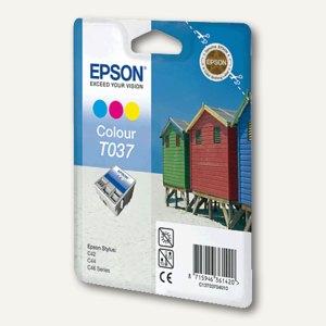 Epson Tintenpatrone T037, color, C13T03704010