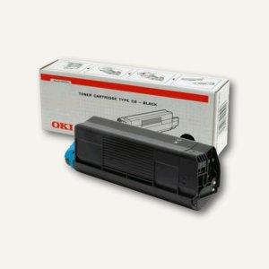OKI Toner schwarz für C5100N / C5300N - 5.000 Seiten, 42127408