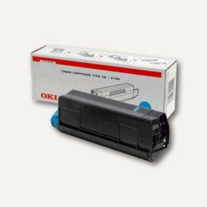 OKI Toner cyan für C5100N / C5300N - 5.000 Seiten, 42127407
