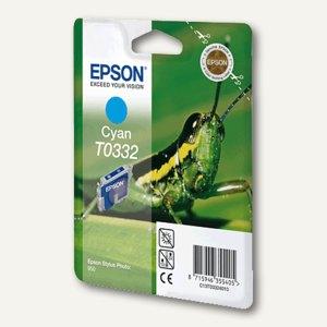 Epson Tintenpatrone T0332, cyan, C13T03324010