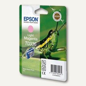 Epson Tintenpatrone T0336, hell-magenta, C13T03364010