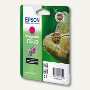 Epson Tintenpatrone T0343, magenta, C13T03434010