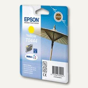 Epson Tintenpatrone T0444, hohe Kapazität, gelb, C13T04444010