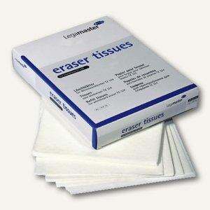 Legamaster Löschpapier für TZ4, für Trockenreinigung, 100 Tücher, 7-1206 00