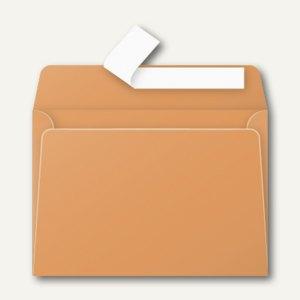 Briefumschlag DIN C6, haftklebend 120 g/m², clementine, 20 St., 5496C