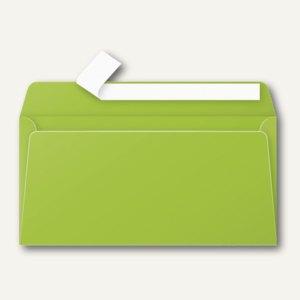 Clairefontaine Briefumschlag DL, haftklebend 120 g/m², minze, 20 Stück, 5545C