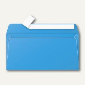 Briefumschlag DL, haftklebend 120 g/m², karibik-blau, 20 St., 5555C