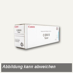 Canon Toner IRC3200, C-EXV8C, cyan, 7628A002