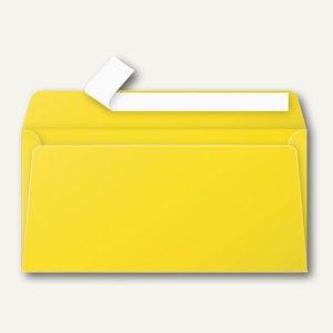 Clairefontaine Briefumschlag DL, haftklebend 120 g/m², sonne, 20 Stück, 5565C