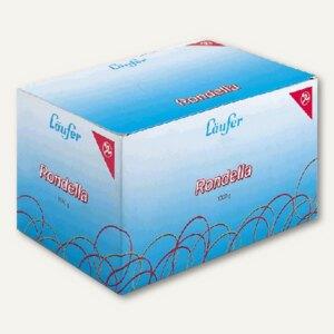 Läufer Rondella Gummibänder, 200 x 6 mm, 1.000 g-Packung, 51141