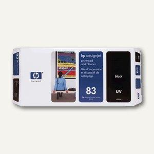 HP UV Druckkopf Nr.83 schwarz inkl. Reiniger, C4960A